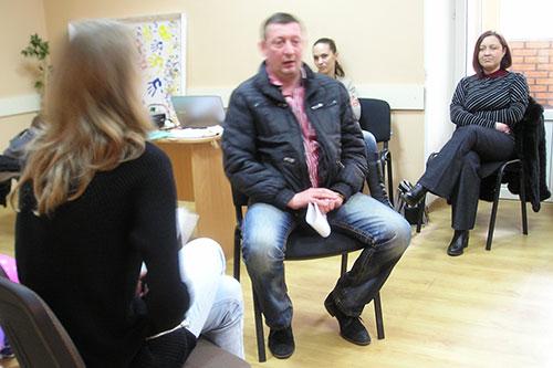 тренинг по ведению жестких переговоров для вынужденных переселенцев из зоны АТО
